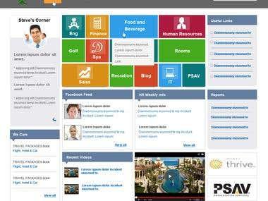 Hyatt SharePoint portal