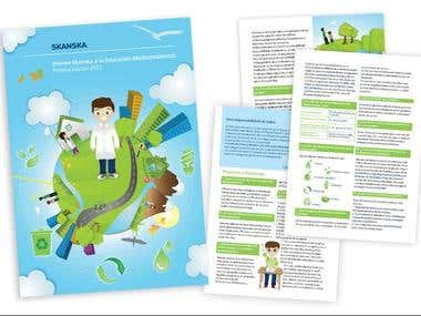 Brochure - Ilustration / Design