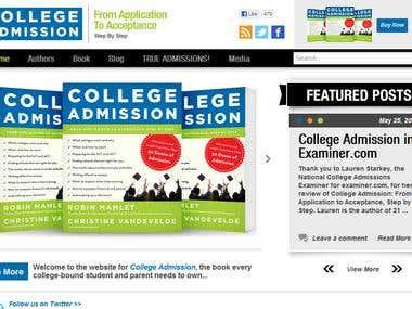 College Admission Book