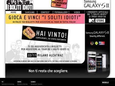 Instant Win - Samsung / MTV
