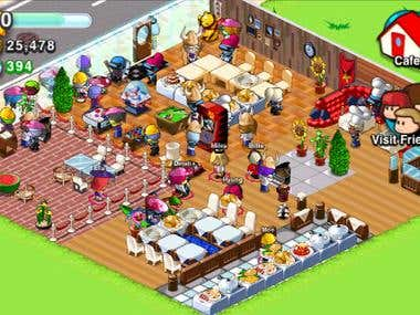 Pocket Cafe - game on ios