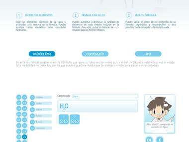 Little teacher site design