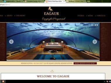 Online Hotel Room Reservation System