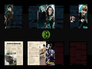 Page Layout Portfolio