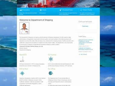 Marine Engineearing Web Site