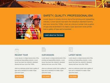 Shipping Company Web Site