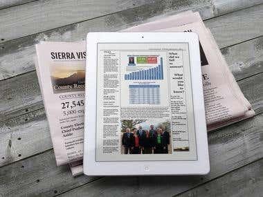 Tabloid Newspaper Design