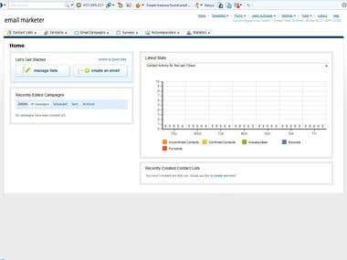 Email Marketing Solution With A Online Platform Setup