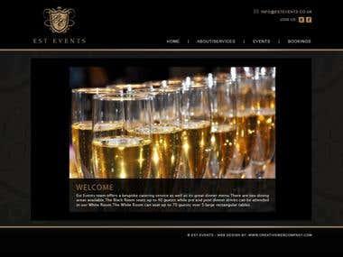 Est Events - Exclusive VIP Events Website