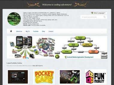 Portfolio & Blog Website