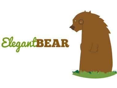 Elegant Bear Logo