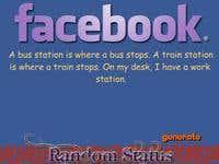Facebook Random Status Genrator | Freelancer