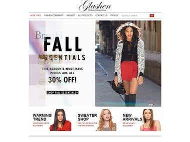Fashion Site with Fashion Community