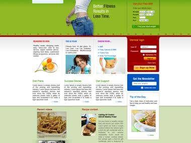 Recepie Website