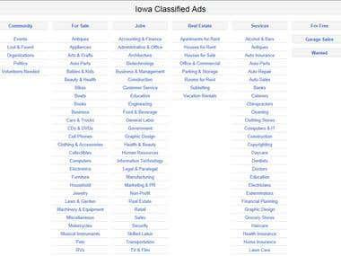 Iowa's List