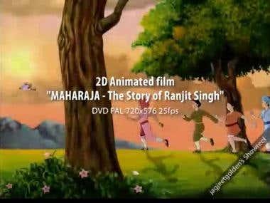 2D Animation Film: MAHARAJA