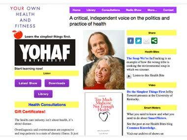 Your Own Heath And Fitness