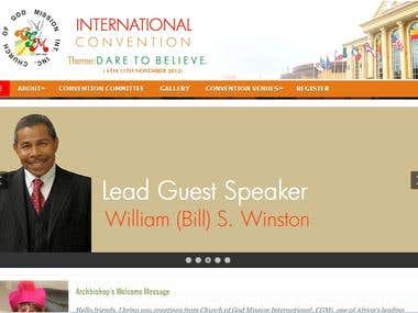 ChurchWesite - http://cgmglobalconvention.com/