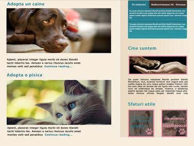 Rescue Animal website