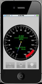 iPhone App: Velocity Meter