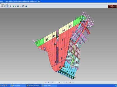 Ship Structure 3D Modeling