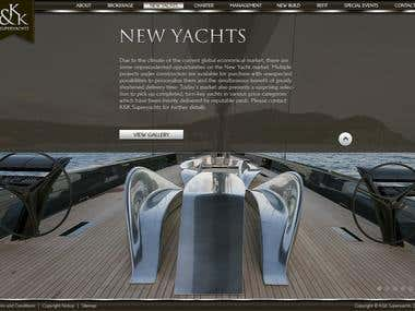 K&K Superyachts inner page