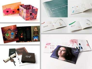 Brochures, Catalogues