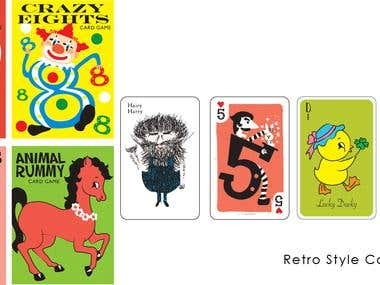 Vintage Style Cardgames