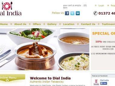 Dial India Restaurant