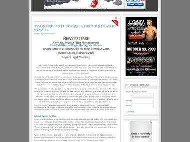 Tyson Griffin UFC Fighters Site