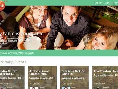 Upaji - Cakephp food sharing website
