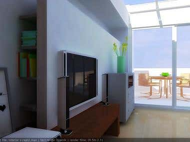 software : 3d max , render with v-ray