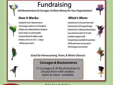 Designs For Flowers  for Fundraisers