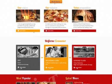 Pizza Oven perches site