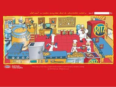 Ritz Crackers, Kraft UK