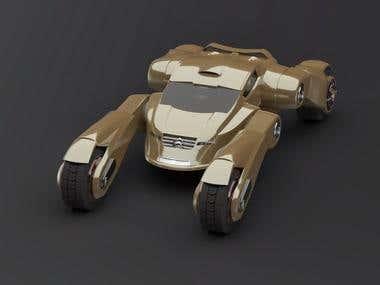Tarnis concept car