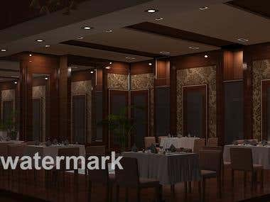 3D interior modeling & Rendering