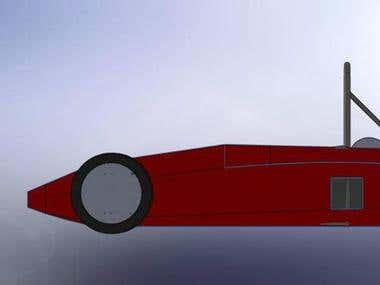 chassis design SAEINDIA Supra 2012