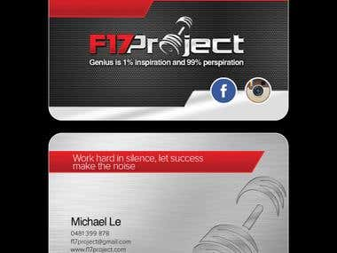 F17Project Business Card
