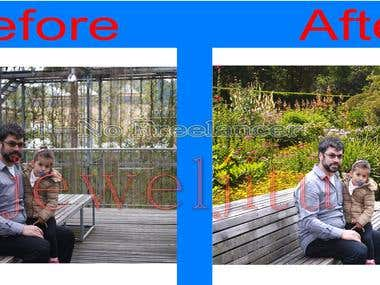 Retouch Also Super Impose