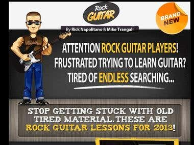 Rock Guitar Lessons