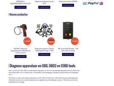 E-comm websites // Prestashop, Magento, Opencart