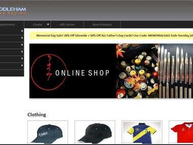 An eCommerce website - middlempark.aadiprosoft.in
