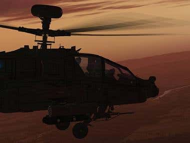 AH-64D Longbow Apache for MS Flight Simulator X