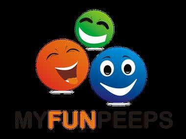 logo for myfunpeeps android app