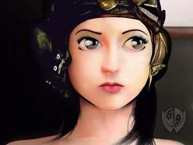 photoshop digital painting