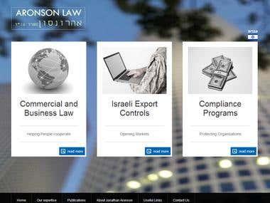 Law Firm - Portfolio Site