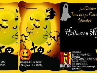 Halloween Designing