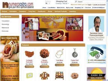 Numeroastro.com (opencart)