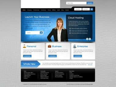 Creating joomla template and website.